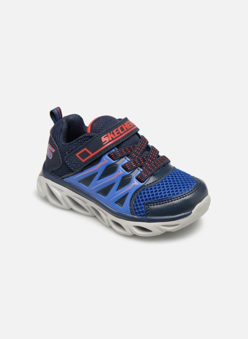 Trainers Skechers Hypno-Flash 3.0 Blue detailed view/ Pair view