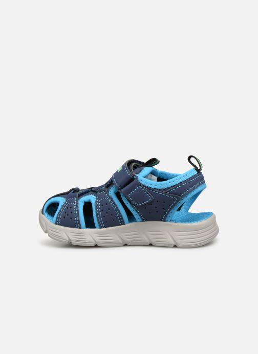 Sandales et nu-pieds Skechers C-Flex Sandal Bleu vue face