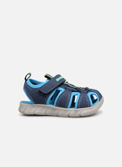 Sandales et nu-pieds Skechers C-Flex Sandal Bleu vue derrière