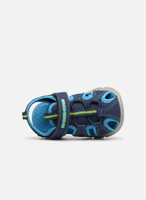 Sandales et nu-pieds Skechers C-Flex Sandal Bleu vue gauche
