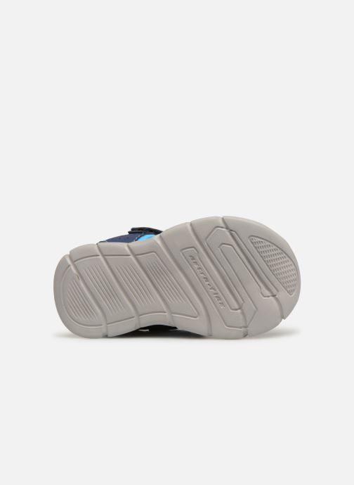 Sandales et nu-pieds Skechers C-Flex Sandal Bleu vue haut