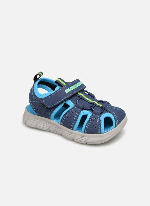Sandales et nu-pieds Skechers C-Flex Sandal Bleu vue détail/paire