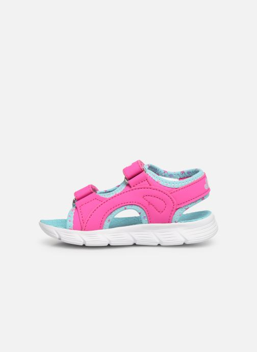 Sandales et nu-pieds Skechers C-Flex Sandal Rose vue face