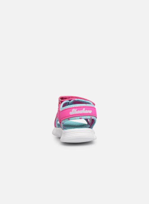 Sandales et nu-pieds Skechers C-Flex Sandal Rose vue droite