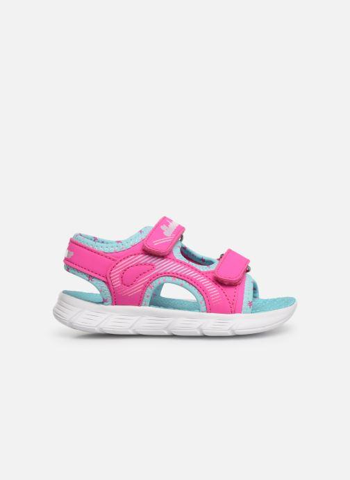 Sandales et nu-pieds Skechers C-Flex Sandal Rose vue derrière