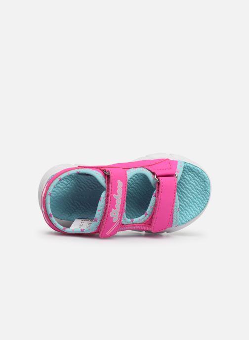Sandales et nu-pieds Skechers C-Flex Sandal Rose vue gauche