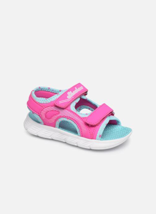Sandales et nu-pieds Skechers C-Flex Sandal Rose vue détail/paire