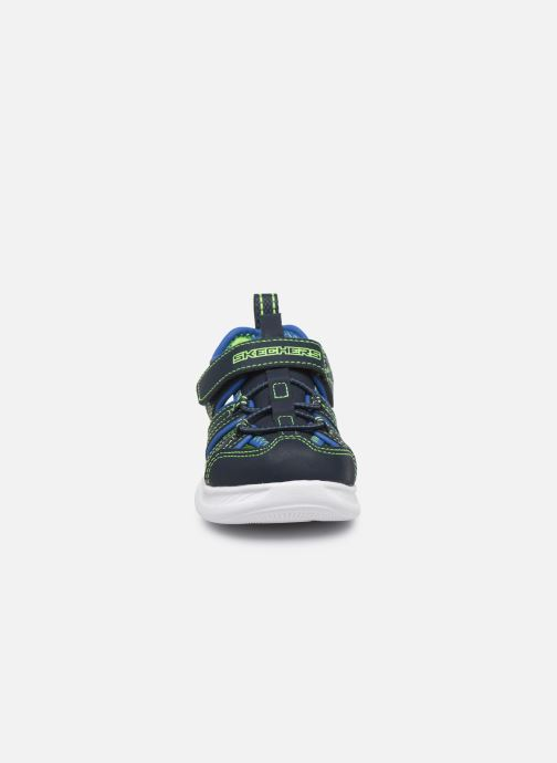 Sandalen Skechers C-Flex Sandal blau schuhe getragen