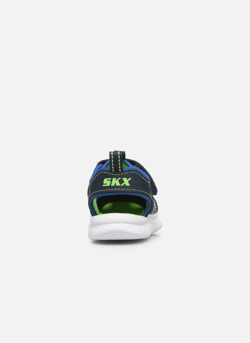 Sandalen Skechers C-Flex Sandal blau ansicht von rechts