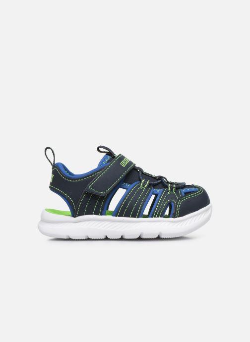 Sandalen Skechers C-Flex Sandal blau ansicht von hinten