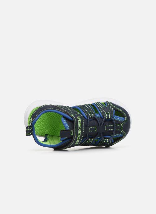 Sandalen Skechers C-Flex Sandal blau ansicht von links