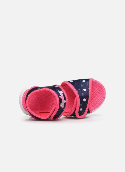 Sandalias Skechers C-Flex Sandal Rosa vista lateral izquierda