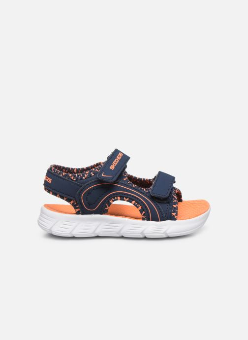 Sandali e scarpe aperte Skechers C-Flex Sandal Azzurro immagine posteriore