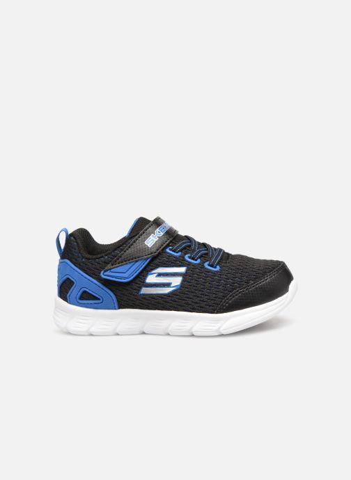 Sportschoenen Skechers Comfy Flex Interdrift Zwart achterkant
