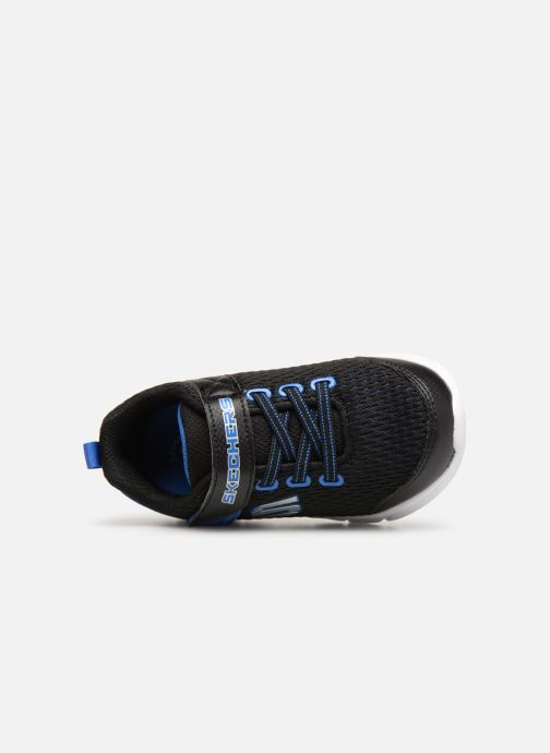 Chaussures de sport Skechers Comfy Flex Interdrift Noir vue gauche