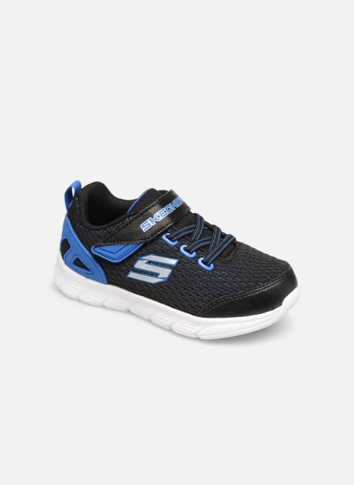 Chaussures de sport Skechers Comfy Flex Interdrift Noir vue détail/paire
