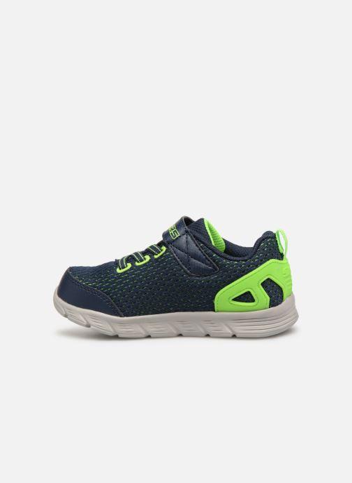 Chaussures de sport Skechers Comfy Flex Interdrift Bleu vue face