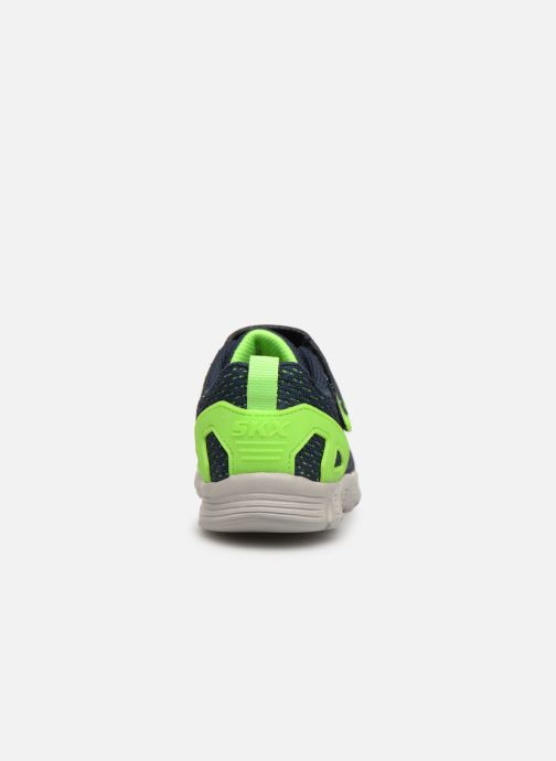 Chaussures de sport Skechers Comfy Flex Interdrift Bleu vue droite