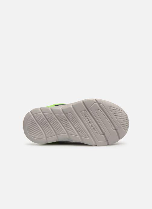 Chaussures de sport Skechers Comfy Flex Interdrift Bleu vue haut