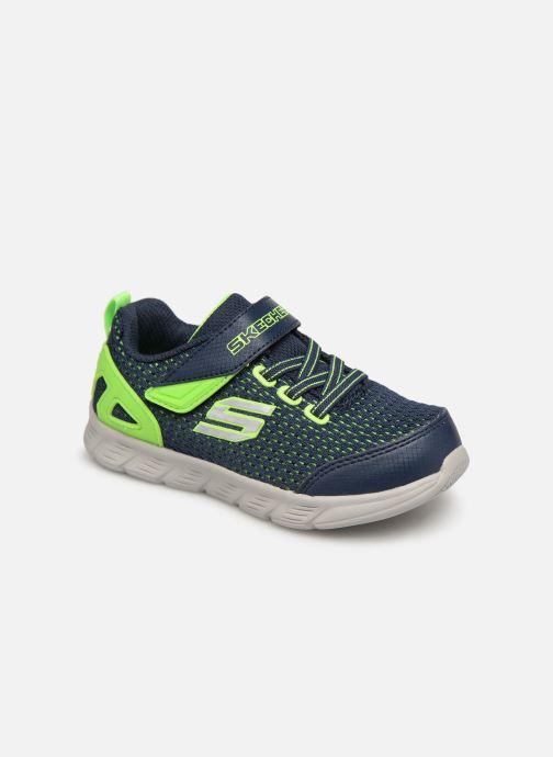 Chaussures de sport Skechers Comfy Flex Interdrift Bleu vue détail/paire