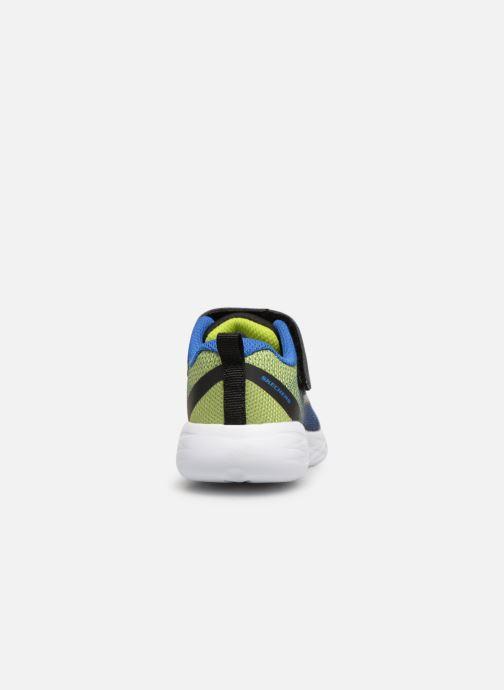 Zapatillas de deporte Skechers Go Run 600 Farrox BB Azul vista lateral derecha
