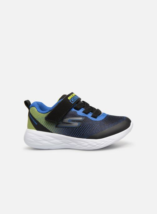 Sport shoes Skechers Go Run 600 Farrox BB Blue back view
