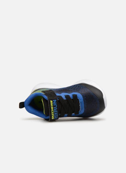 Zapatillas de deporte Skechers Go Run 600 Farrox BB Azul vista lateral izquierda