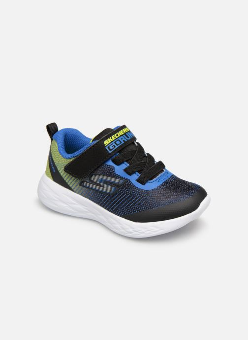 Sport shoes Skechers Go Run 600 Farrox BB Blue detailed view/ Pair view