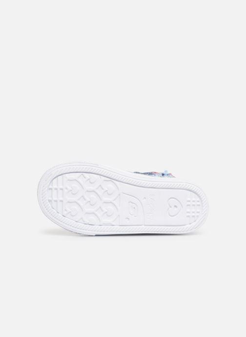 Sneaker Skechers Shuffle Lite Dainty Denims blau ansicht von oben