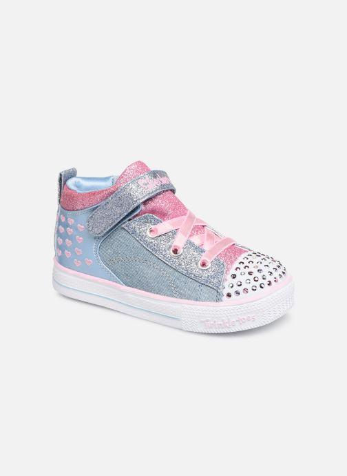 Sneakers Skechers Shuffle Lite Dainty Denims Blauw detail