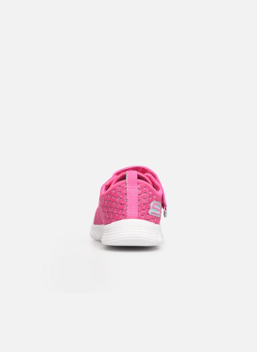 Zapatillas de deporte Skechers Comfy Flex Sparkle Dash Rosa vista lateral derecha