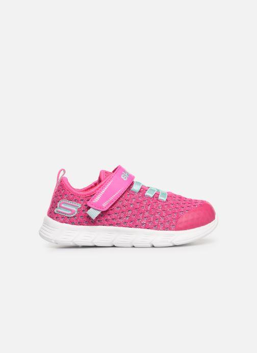 Chaussures de sport Skechers Comfy Flex Sparkle Dash Rose vue derrière