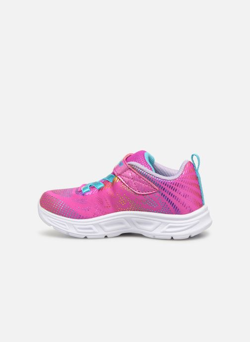 Sneaker Skechers Litebeams Gleam N'Dream BB rosa ansicht von vorne