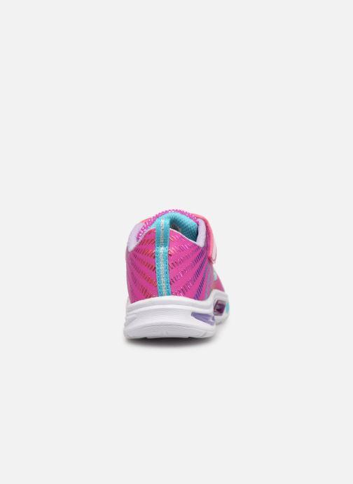 Sneaker Skechers Litebeams Gleam N'Dream BB rosa ansicht von rechts