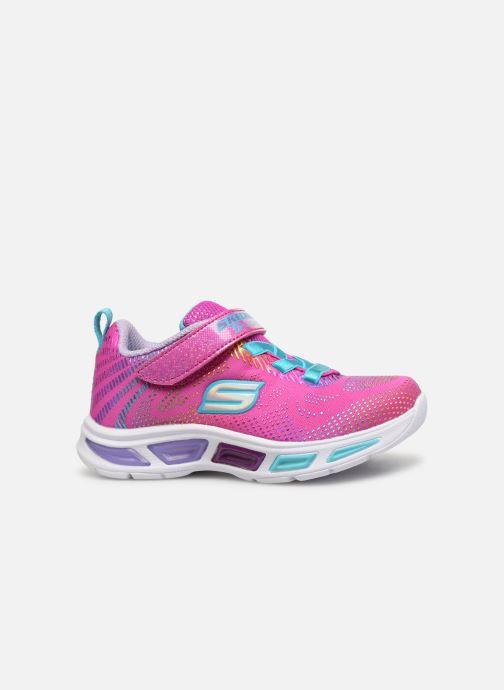 Sneaker Skechers Litebeams Gleam N'Dream BB rosa ansicht von hinten