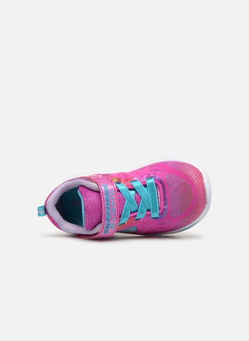 Baskets Skechers Litebeams Gleam N'Dream BB Rose vue gauche