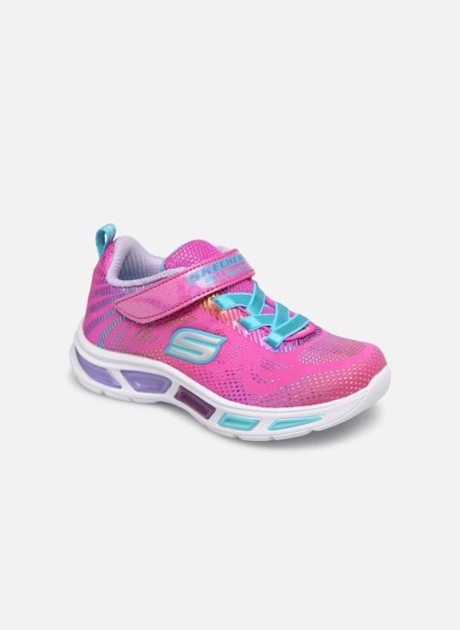 Sneaker Skechers Litebeams Gleam N'Dream BB rosa detaillierte ansicht/modell