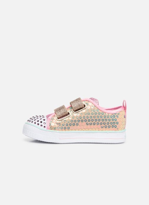 Trainers Skechers Shuffle Lite Mini Mermaid Silver front view