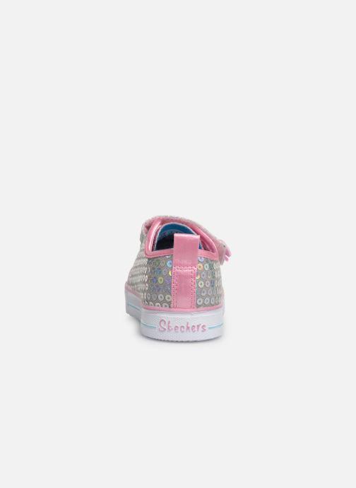 Sneakers Skechers Shuffle Lite Mini Mermaid Zilver rechts