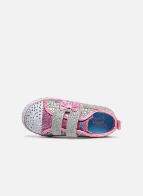 Sneakers Skechers Shuffle Lite Mini Mermaid Zilver links