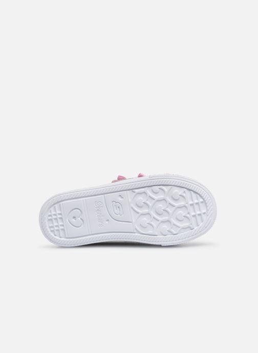 Sneakers Skechers Shuffle Lite Mini Mermaid Zilver boven
