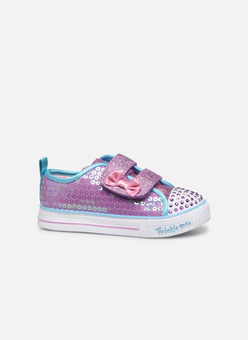 Baskets Skechers Shuffle Lite Mini Mermaid Rose vue derrière