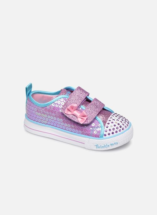 Baskets Skechers Shuffle Lite Mini Mermaid Rose vue détail/paire