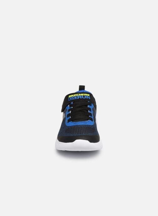 Chaussures de sport Skechers Go Run 600 Farrox Bleu vue portées chaussures