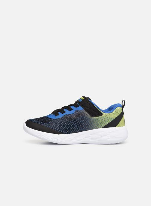 Chaussures de sport Skechers Go Run 600 Farrox Bleu vue face
