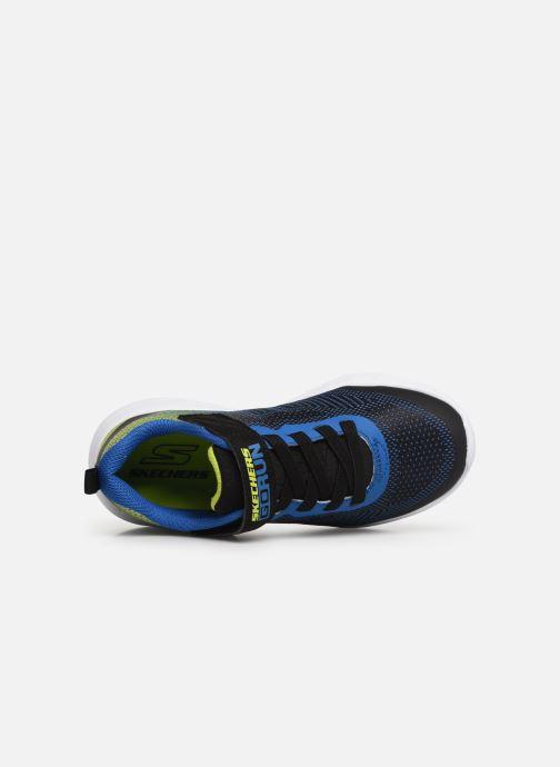 Chaussures de sport Skechers Go Run 600 Farrox Bleu vue gauche
