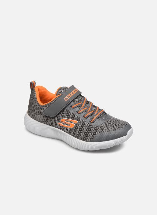 Sportssko Skechers Dyna-Lite Grå detaljeret billede af skoene