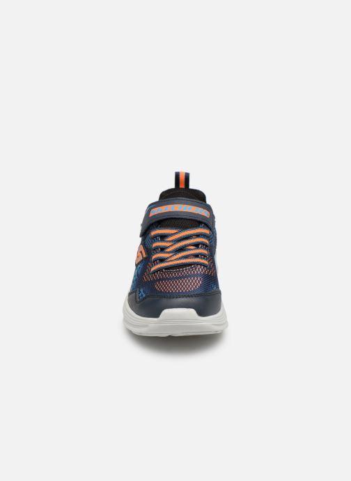 Chaussures de sport Skechers Erupters Iii Derlo Bleu vue portées chaussures