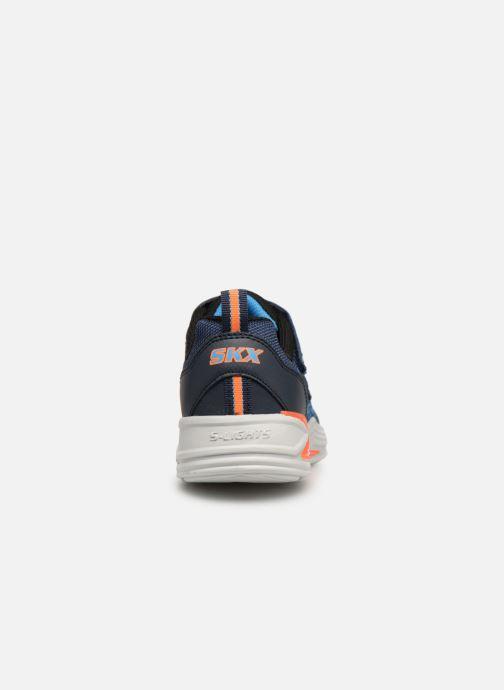 Chaussures de sport Skechers Erupters Iii Derlo Bleu vue droite
