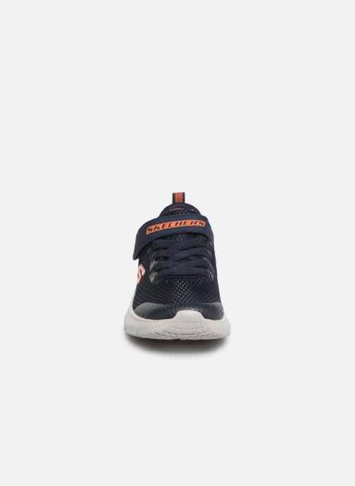 Sneakers Skechers Dyna-Air Blå bild av skorna på